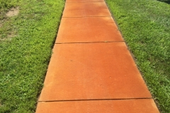 sidewalk iron before